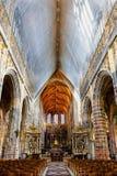 Saint Hubrt& x27;s Church Interior Stock Photography