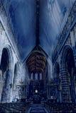 Saint Hubrt& x27;s Church Interior Royalty Free Stock Photo