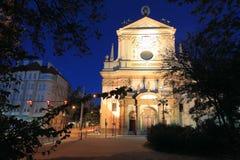Saint Ignatius church in Prague Stock Images