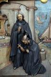 Saint Ignatius sends Saint Francis Xavier in the mission Royalty Free Stock Image