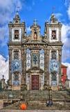 Saint Ildefonso church stock photos