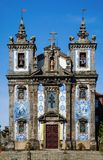 Saint Ildefonso church Royalty Free Stock Photo