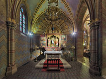 Saint Imre Chapel in Matthias Church in Budapest, Hungary Stock Image