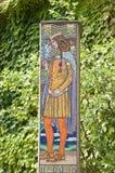 Saint Imre Herczeg Mosaic Stock Image