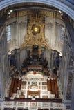 Saint intérieur Peters Cathedral, Rome, Italie Image stock