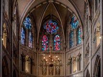 Saint interno Catharine Church Imagem de Stock