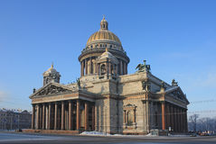 Saint Isaac's cathedral. Saint Isaac's cathedral  in Saint-Petersburg, Russia Royalty Free Stock Photography