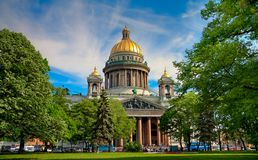 Saint Isaac cathedral Royalty Free Stock Image
