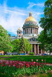 Saint Isaac cathedral Stock Images