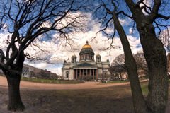 Saint Isaac Cathedral Petersburg Stock Images