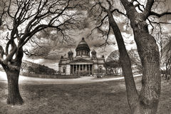 Saint Isaac Cathedral Petersburg Royalty Free Stock Photo