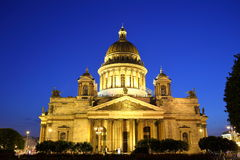 Saint Isaac Cathedral, Petersburg Royalty Free Stock Photo