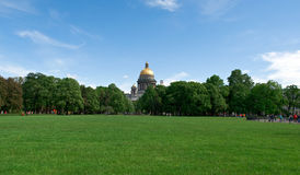Saint Isaac cathedral Stock Photos