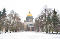 Saint Isaac Cathedral. Royalty Free Stock Images