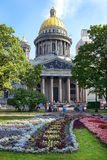 Saint Isaac cathedral in St Petersburg, architect Auguste de Montferrand Stock Photos