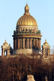 Saint Isaac cathedral in St. Petersburg Royalty Free Stock Photos