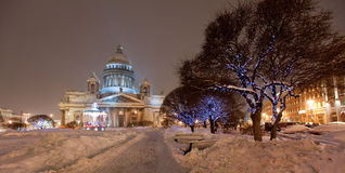 Saint Isaac's Cathedral Stock Images