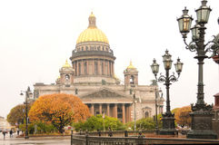 The saint isaac's cathedral Royalty Free Stock Image