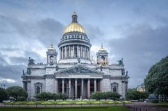 Saint Isaac Cathedral, St Petersburg, Russia Stock Images
