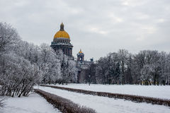 Saint Isaac's Cathedral or Isaakievskiy Sobor. Church Stock Photos