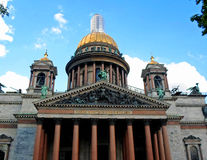 Saint Isaac`s Cathedral Stock Images