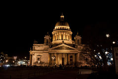 Saint Isaac's Cathedral or Isaakievskiy Sobor in Saint Petersburg, Russia Royalty Free Stock Photography