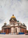 Saint Isaac's Cathedral (Isaakievskiy Sobor) in Saint Petersburg Stock Image
