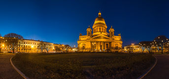 Saint Isaac`s Cathedral Stock Image