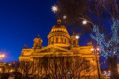 Saint Isaac`s Cathedral Royalty Free Stock Photos