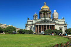 Saint Isaac's Cathedral in Petersburg Royalty Free Stock Photography