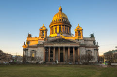 Saint Isaac`s Cathedral Royalty Free Stock Photo