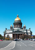 Saint Isaac's Cathedral. In Saint Petersburg, Russia was built in 1858 Royalty Free Stock Photo