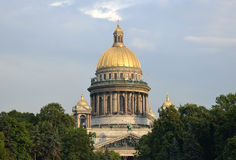 Saint Isaac's Cathedral. Stock Photos
