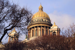 Saint Isaac's Cathedral, Saint-Petersburg Stock Image