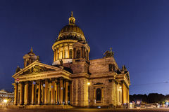 Saint Isaacs Cathedral in Saint Petersburg Royalty Free Stock Photography