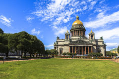 Saint Isaac's Cathedral in Saint Petersburg Royalty Free Stock Photography