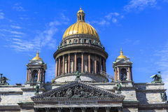 Saint Isaac's Cathedral in Saint Petersburg Stock Photography