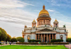Saint Isaac's Cathedral in Saint Petersburg Stock Photo