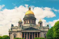Saint Isaac's Cathedral in Saint Petersburg, Russia Royalty Free Stock Images