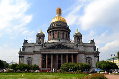 Saint Isaac's Cathedral. Saint Petersburg, Russia. Royalty Free Stock Image