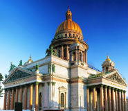 Saint Isaac's Cathedral in St Petersburg Royalty Free Stock Photos