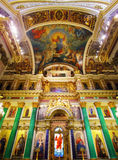 Saint Isaac's Cathedral in St Petersburg Royalty Free Stock Photography