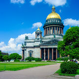Saint Isaac's Cathedral, St. Petersburg Royalty Free Stock Photos