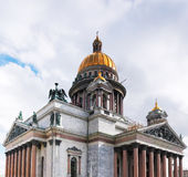 Saint Isaac's Cathedral in St Petersburg, Russia Stock Photos