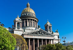 Saint Isaac's Cathedral in St. Petersburg. Royalty Free Stock Photos
