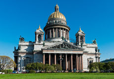 Saint Isaac's Cathedral in St. Petersburg. Stock Image