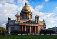 Saint Isaac's Cathedral in St. Petersburg Stock Image