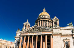 Saint Isaac's Cathedral in St. Petersburg. Royalty Free Stock Image