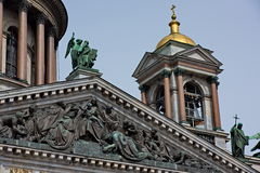 Saint Isaac's Cathedral, St Petersburg, Russia Royalty Free Stock Photo