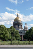 Saint Isaac's Cathedral in St. Petersburg Stock Photography